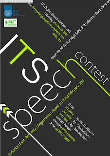 Speech Contest untuk SMP lomba pidato bahasa inggris se-Jawa Timur