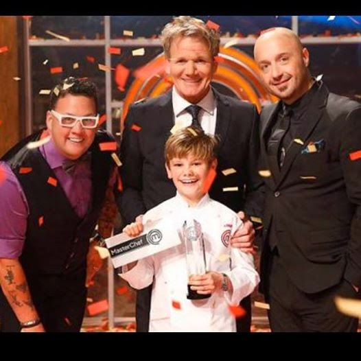 Gordon Joe Elliot Logan MasterChef Junior Winner