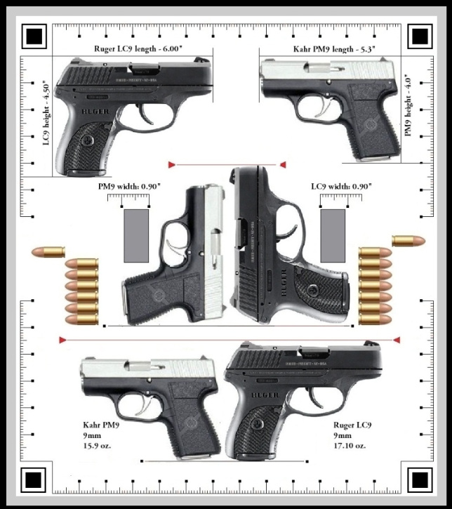 Ruger LCP vs Kahr PM9