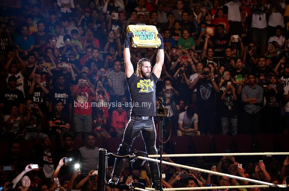 Seth Rollins WWE Malaysia