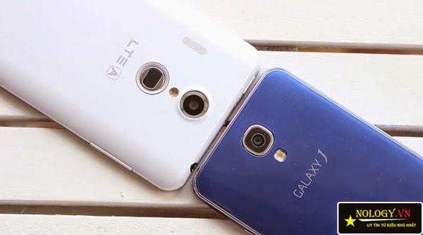 So sánh Sky A900 chính hãng và Samsung Galaxy J.