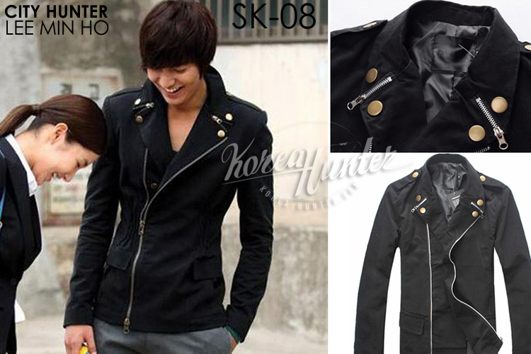KOREA-HUNTER.com jual murah Jacket Korea Double Zipper | kaos crows zero tfoa | kemeja national geographic | tas denim korean style blazer
