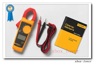 New Backlight Version! Fluke 302+ Clamp Meter AC/DC Handheld Multimeter