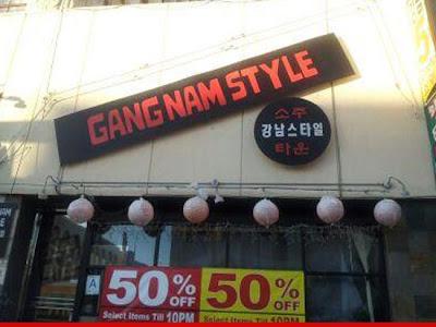 restoran Gangnam Style