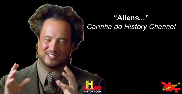 Giorgio Tsoukalos, history channel, aliens, frases profundas