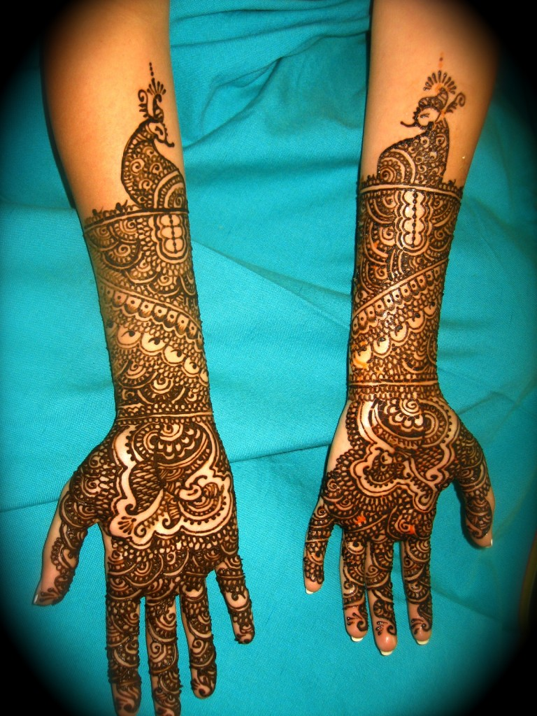 Mehndi For Doctors : Pakistani mehndi designs combine