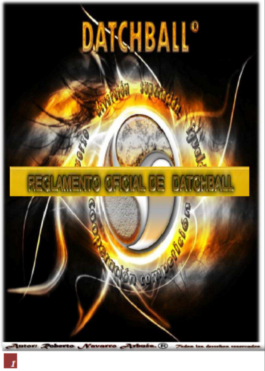 REGLAMENTO OFICIAL DATCHBALL