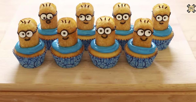 How to Make MINION Cupcakes in Just Minutes