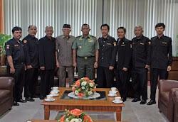 SENKOM MENGHADAP PANGLIMA TNI