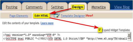 Cara Membuat Profil Admin Dibawah Postingan Blog