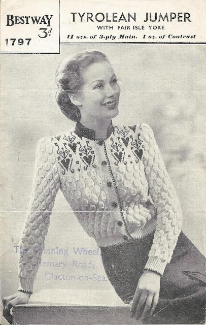 Bestway 1797 Tyrolean jumper cardigan