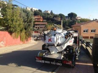 Inspección de tuberías en Mataró