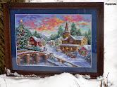 """""""Świąteczna wioska"""""""