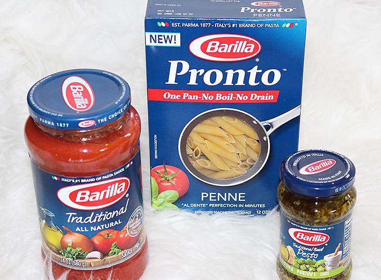 Barilla Pronto Pasta Recipe