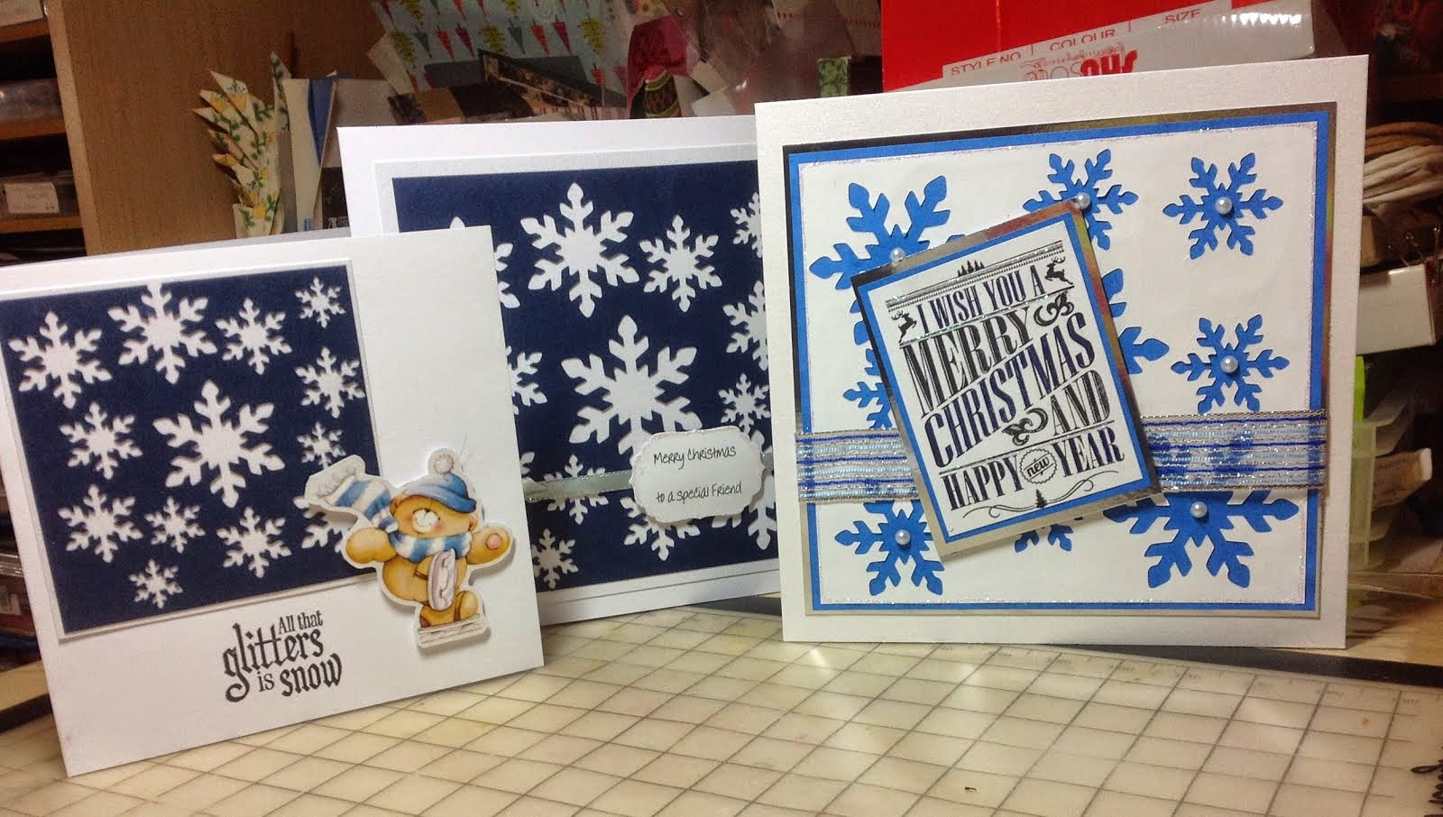 2015 CHRISTMAS CARDS MADE