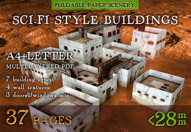 Wargame News And Terrain Wargame Print New Paper Model
