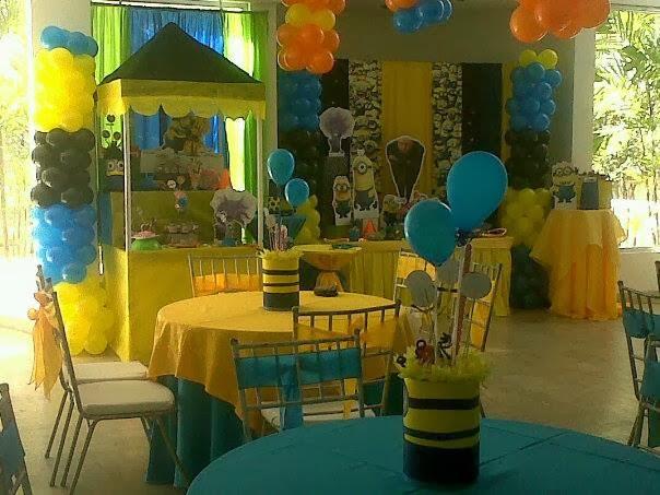 Minions Decoracion Para Fiestas ~   Eventos  de Ursula Newman Mi Villano Favorito  Minions Party