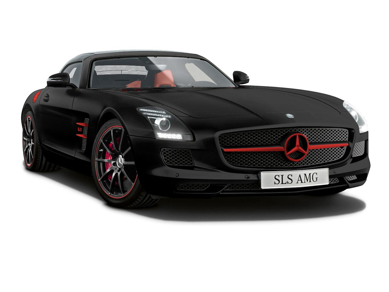 Cars GTO Mercedes Benz SLS AMG Matt Limited Edition
