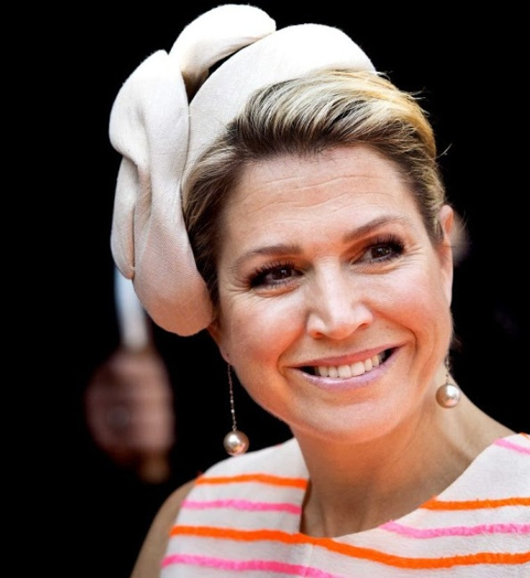 Queen Maxima Attends Business Award Ceremony 2015