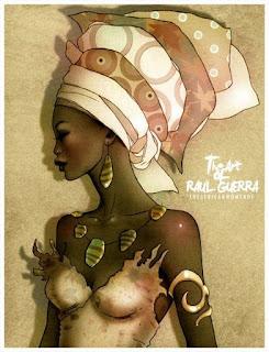 Lamianas De Negras Aficanas
