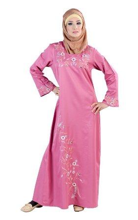 Rose-Pink-Abaya