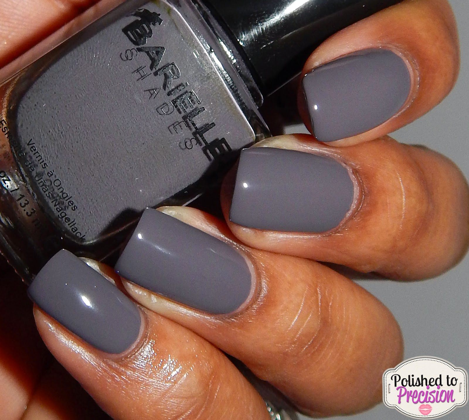 Barielle Taupe Notch
