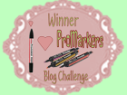 8 febr. winnaar bij I Love Promarkers