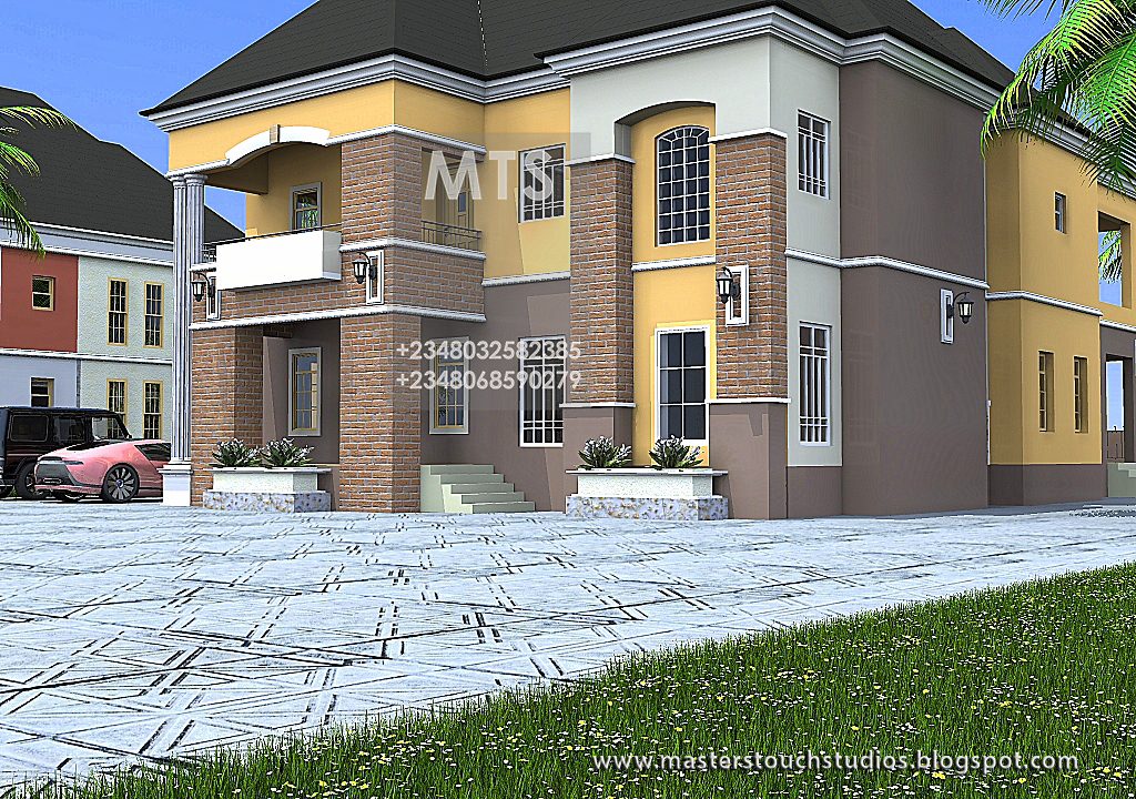 Mr richard 4 bedroom duplex residential homes and public for 4 bedroom duplex design