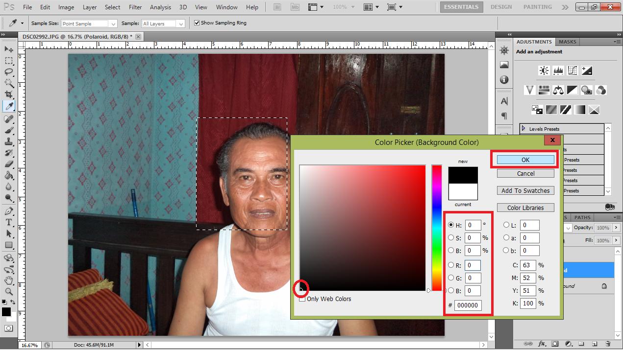 Cara meng foto dengan adobe photoshop 87