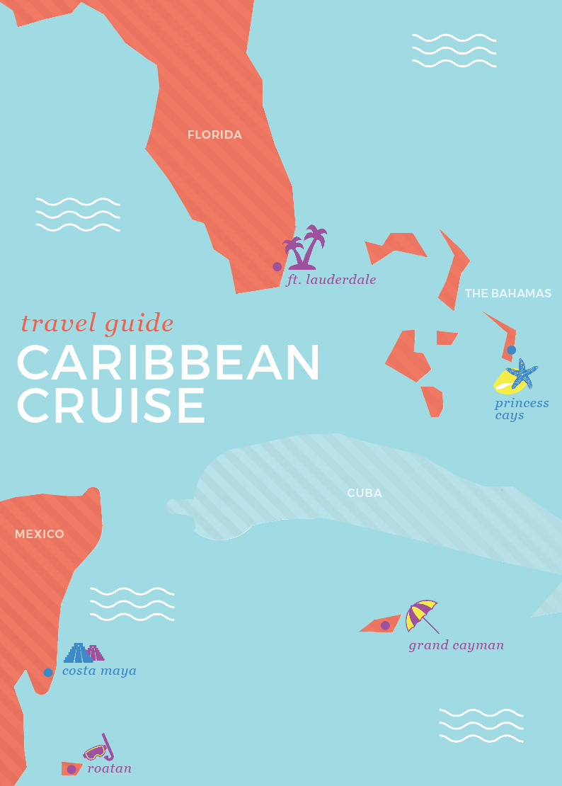 Caribbean Cruise Vacation, travel guide for tropical cruise, Princess cruises