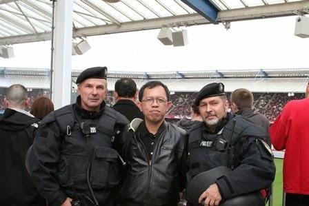 Dengan Polisi Jerman (Sept 2013)
