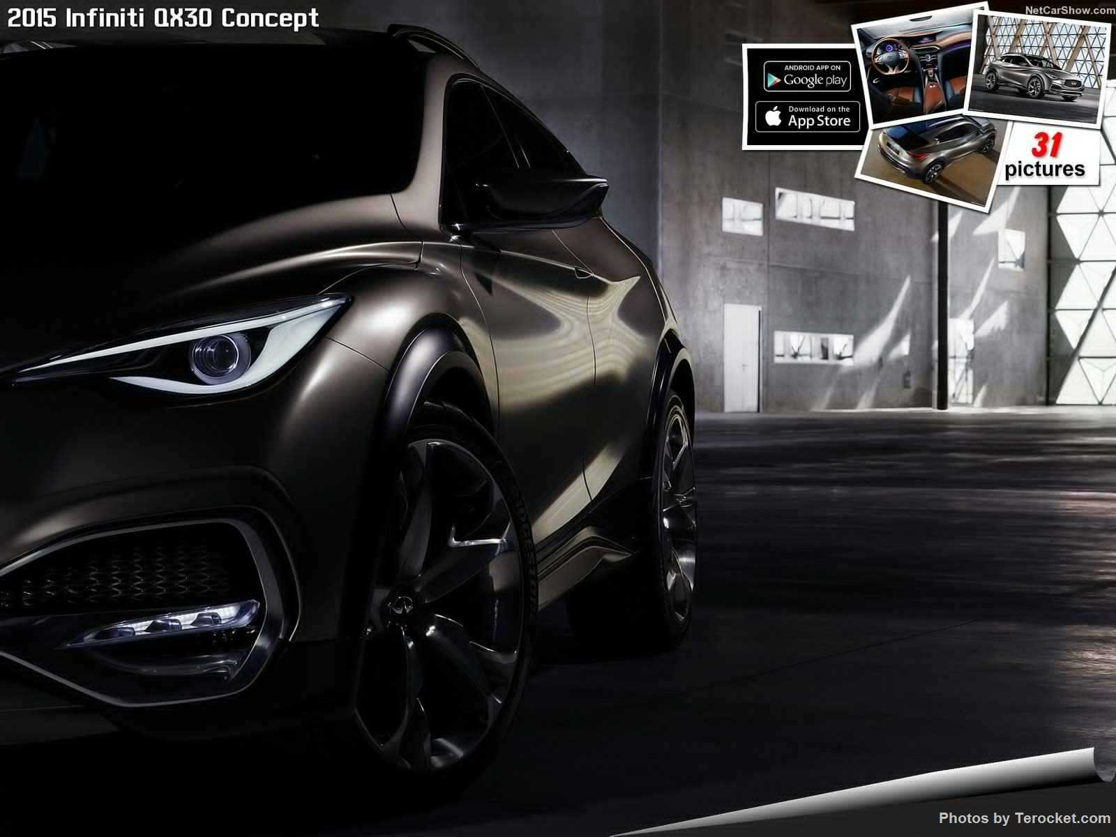 Hình ảnh xe ô tô Infiniti QX30 Concept 2015 & nội ngoại thất