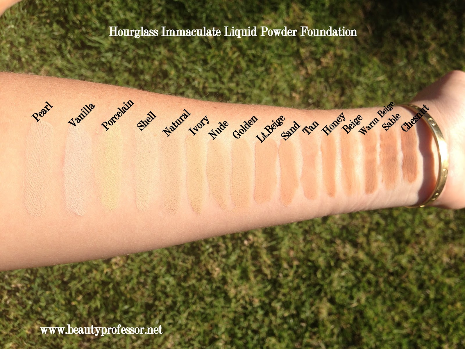 Beauty Professor Hourglass Immaculate Foundation