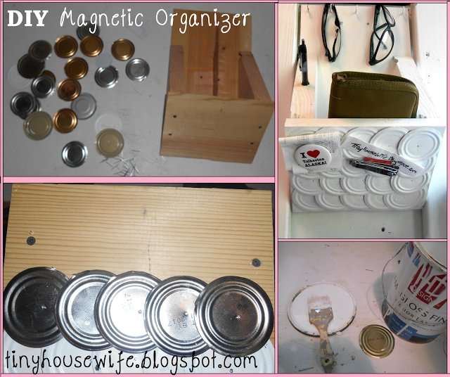 DIY Magnetic Organizer