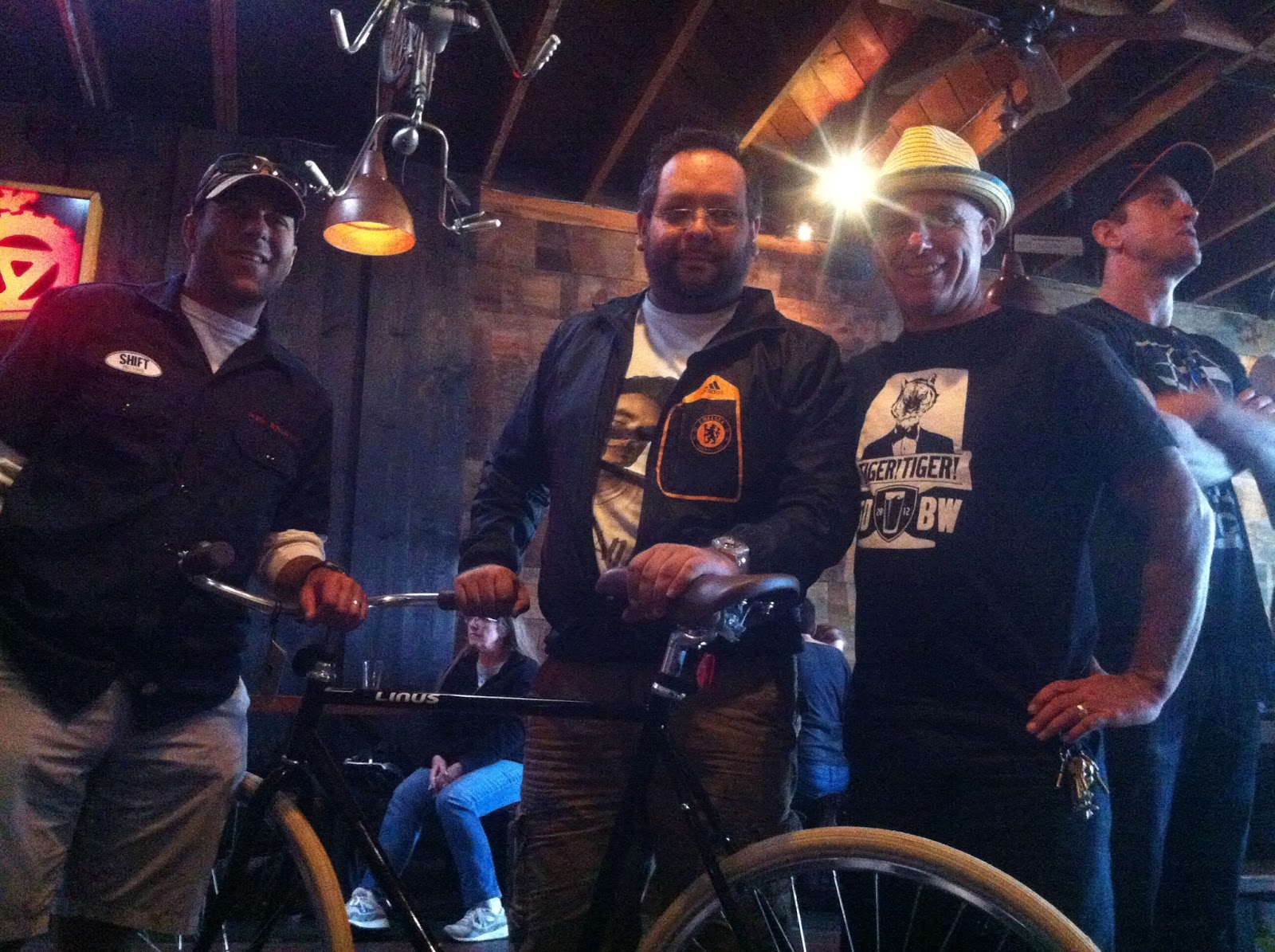 Blind Lady Ale House Townie Ride And Linus Roadster Raffle