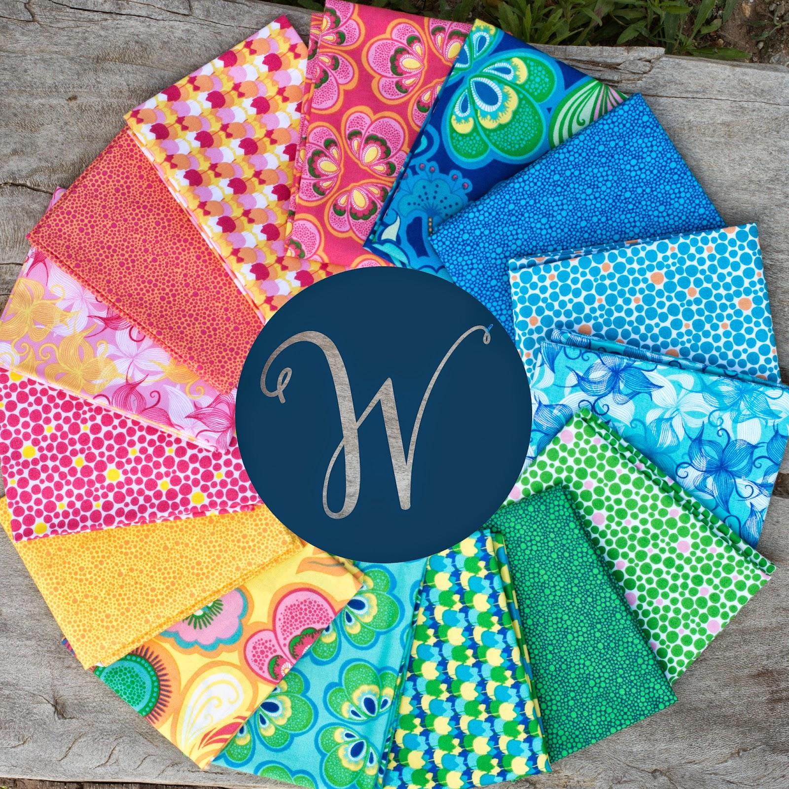 Bella Caronia, Spring Bloom Fabric, Windham Fabrics