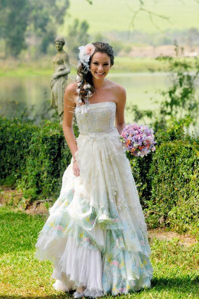 Vestidos de Noiva romântico