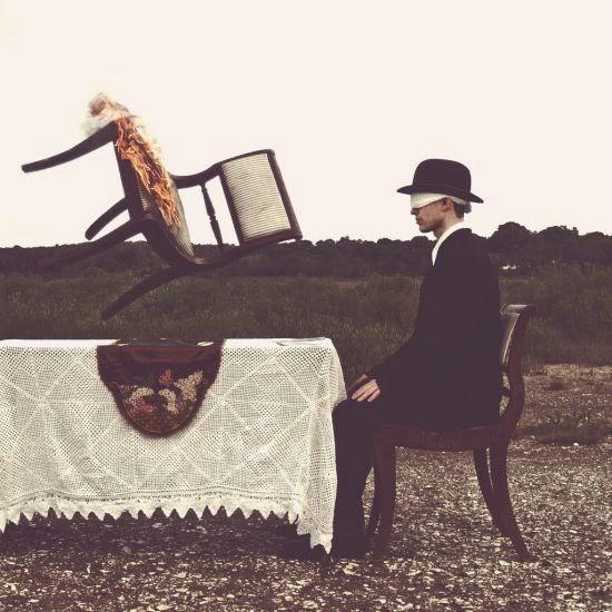 Nicolas Bruno fotografia surreal sombria terror