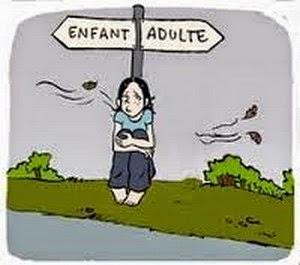 Adolescent de l'adolescence Adhérer aux adolescents