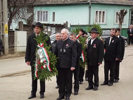 Március 15-ei ünneplés Alsósófalván