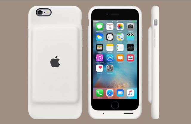 Apple Resmi Luncurkan Baterai Smart Case untuk iPhone 6 / 6s