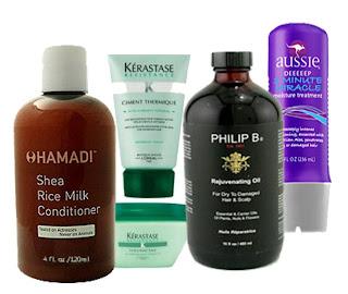 productos para el pelo seco