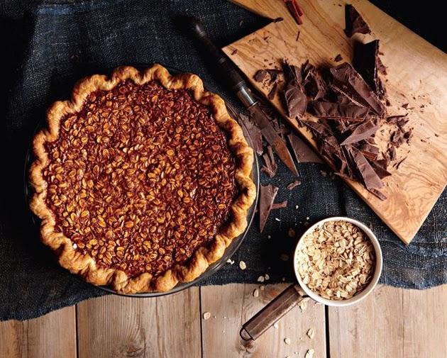 black bottom oatmeal pie