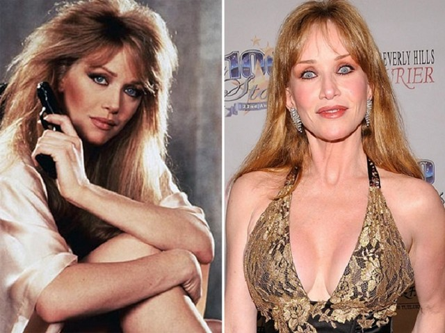 Tanya Roberts young and old picture