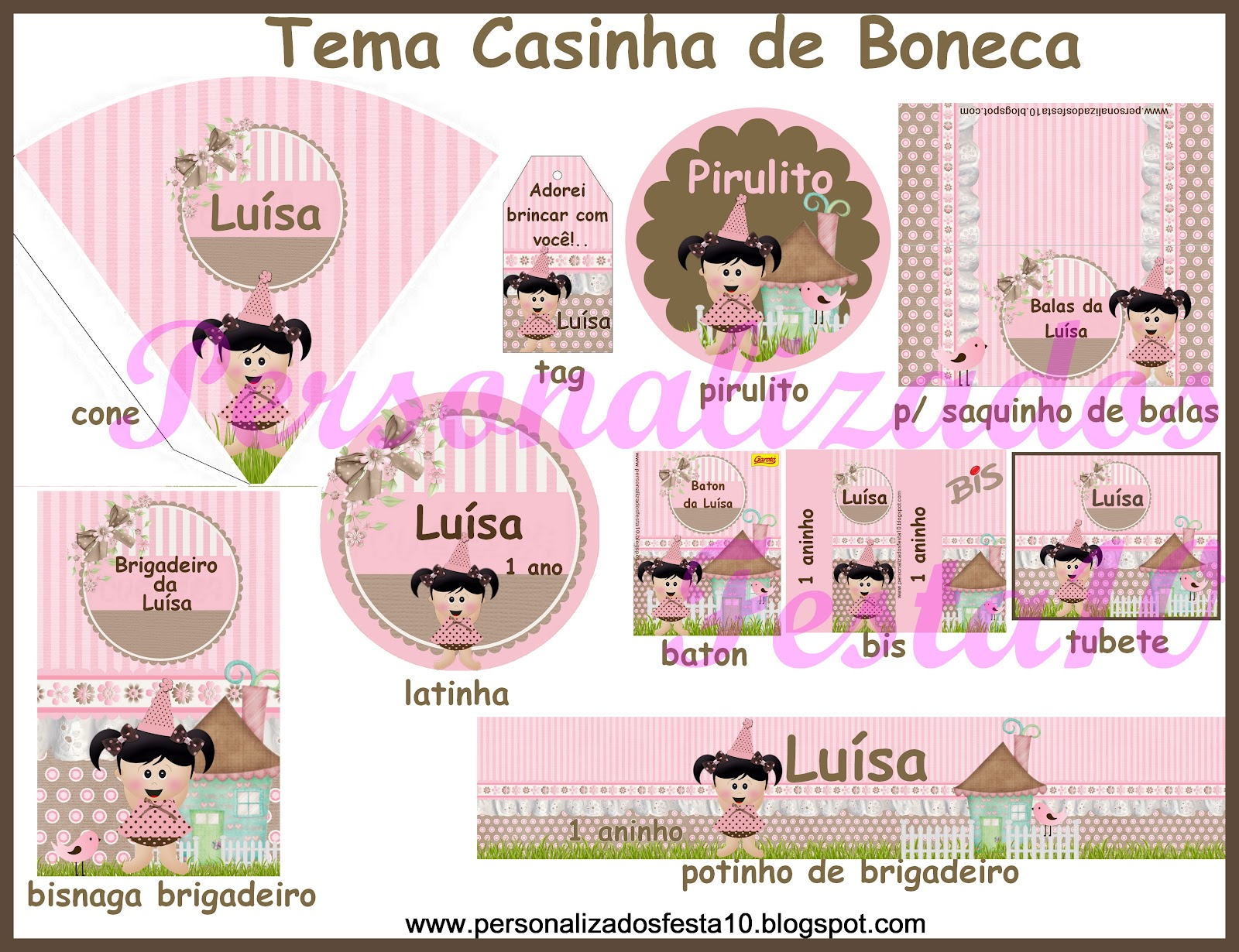 Festa Boneca De Casa