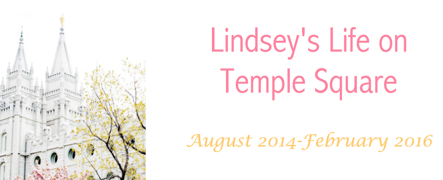 Lindsey's Life on Temple Square