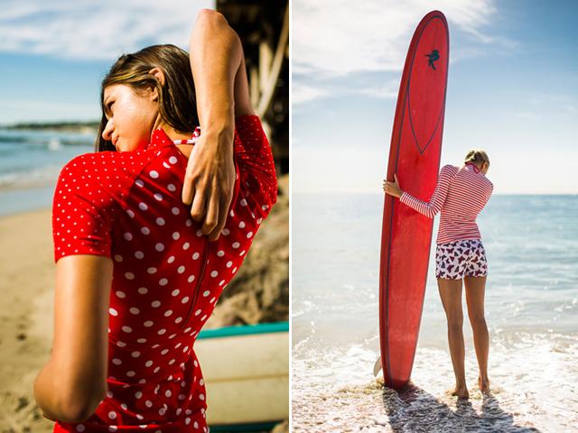 pret-a-surf,j.crew,collaboration,rash guard,bikini,surf,paddle