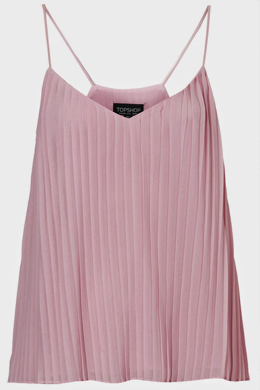pink cami topshop