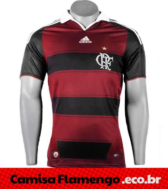 Camisa Flamengo Adidas 2013