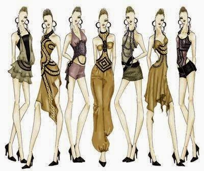 ... mi propia ropa. También quiero diseñar bolsa o sea también carteras 83ae470d88382